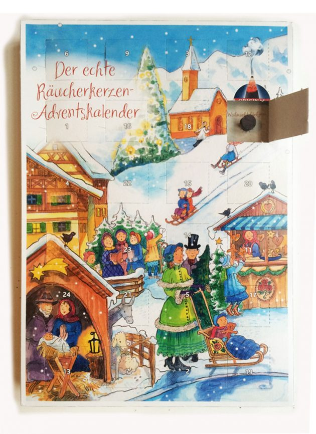 Räucherkerzen-Adventskalender