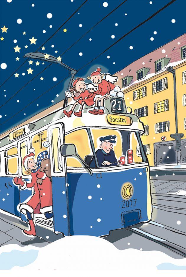 Borstei Tram Linie 21